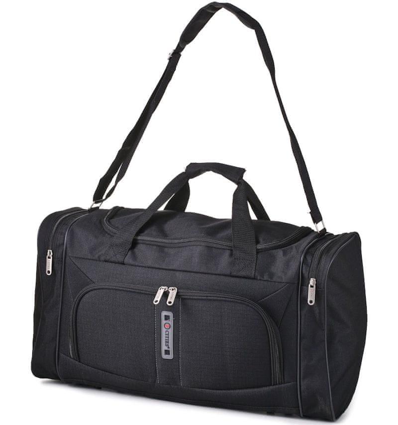 d4a4945280cbe REAbags Cestovná taška CITIES 602 - čierna