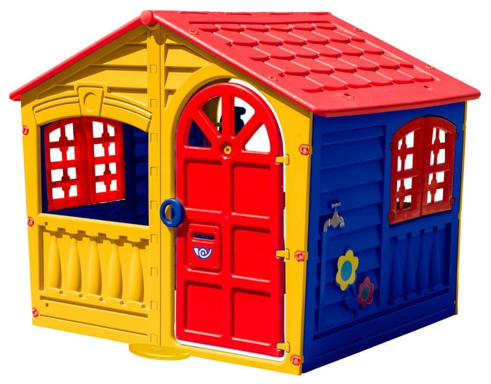 40e0fcbefafdc Marian Plast Domeček HAPPY House - zábavný