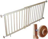 Sun Baby Detská schodová zábrana 70-110 cm alfa plus