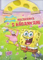 autor neuvedený: Maľovanka s hádankami - SpongeBob