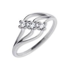 Brilio Dámsky prsteň s kryštálmi 229 001 00546 07 - 1 49c7e2d1a42
