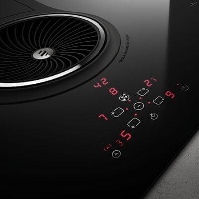 Indukční varná deska Elica NIKOLATESLA BL/A/83 Residual Heat Indicator