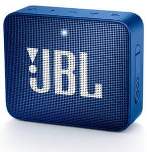 Bezdrátový reproduktor JBL GO 2 voděodolný ipx7 mikrofon audiokabel 3,5mm jack