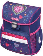 c7860204f4 Herlitz Školská taška Loop srdce modré