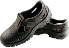 c71a4e790ad6b Panda Safety Pracovné sandále Topolino S1 SRC čierna 44
