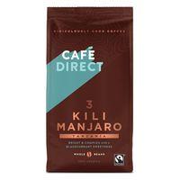 Cafédirect Kilimanjaro zrnková káva 227g
