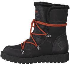 3ef28d810bb90 Oliver Dámske členkové topánky Black 5-5-26459-31-001