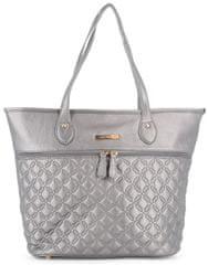 b290c02512263 Laura Biagiotti stříbrná kabelka