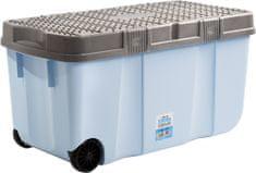 3be200ba2 WHAM 15251 Box s vekom a kolieskami 100 l modrý
