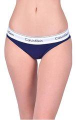 4deee3fd6b Calvin Klein Dámske nohavičky Bikini Shilo blue QF4654E-XS6