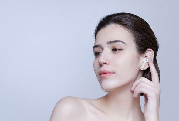 Bezdrôtová Bluetooth slúchadlá Xiaomi Mi AirDots Pro, dotykové ovládanie, hands-free, hlasový asistent, automatické párovanie