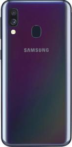 Samsung Galaxy A40, duálny fotoaparát, ultra širokouhlý objektív, veľké rozlíšenie.