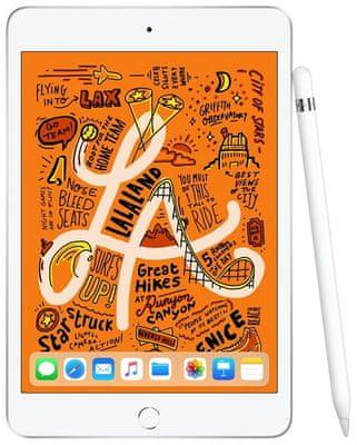 iPad Mini 2019, Retina displej, oleofóbny, antireflexný, Apple Pencil, True Tone, vysoké rozlíšenie, široký farebný rozsah