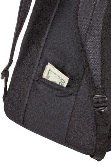 batoh na notebook case logic prevailer organizér vnútri nízka hmotnosť skryté vrecko na peniaze a doklady