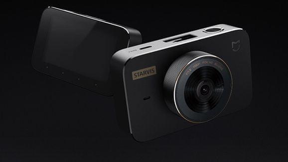 Xiaomi Mi Dash Cam 1S, širokouhlý objektív, nočné videnie, monitoring parkovanie