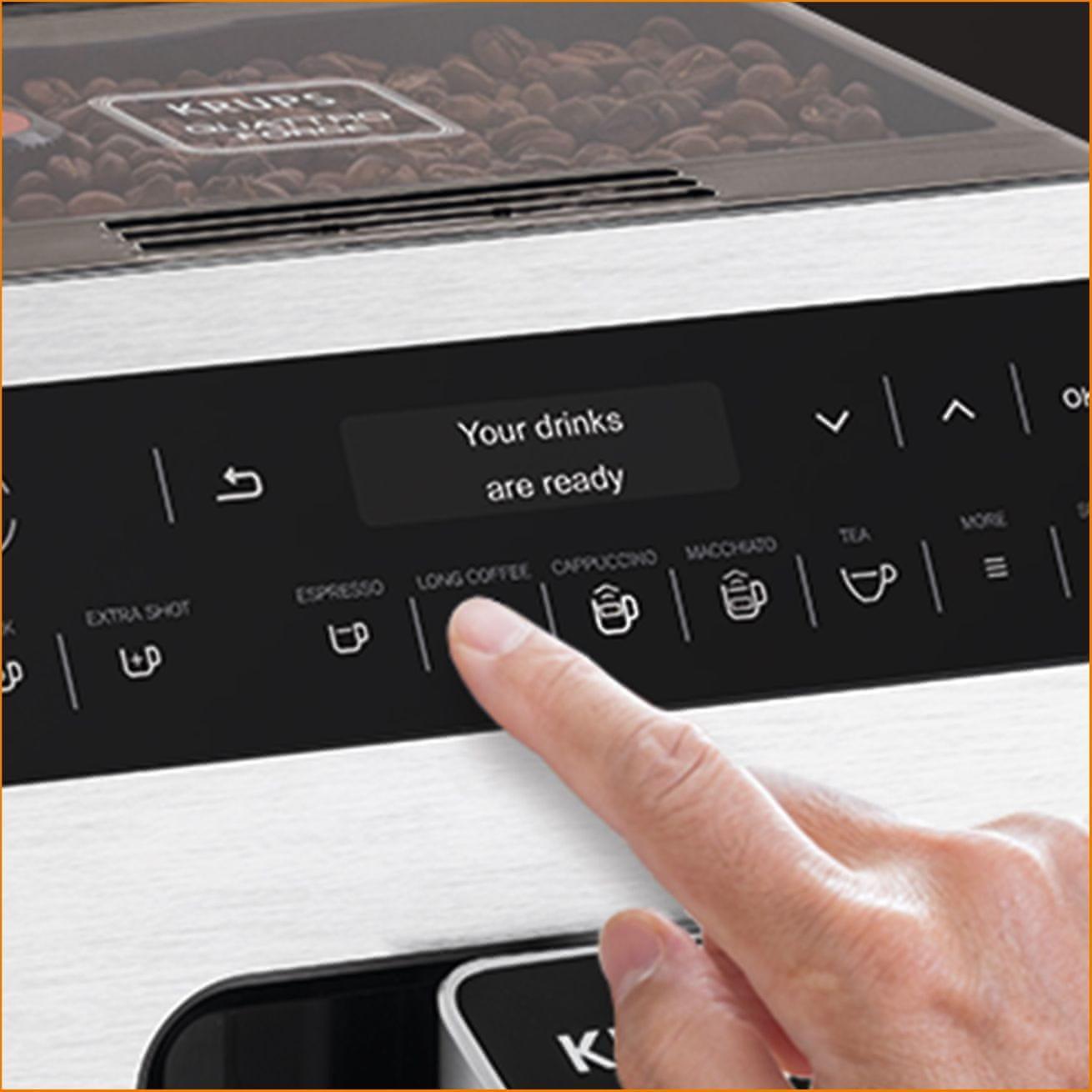 Krups EA891110 Evidencia biela AutoClean