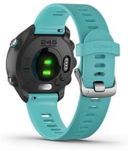 Chytré hodinky Garmin Forerunner 245 Optic Music, sledovanie tepu, počet krokov, trasa, GPS, monitorovanie spánku
