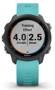 Chytré hodinky Garmin Forerunner 245 Optic Music, detekcia nehody, akcelerometer, správa o nehode