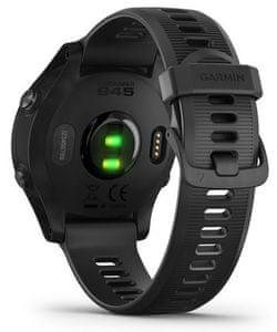 Chytré hodinky Garmin Forerunner 945 Optic, sledovanie tepu, počet krokov, trasa, GPS, monitorovanie spánku
