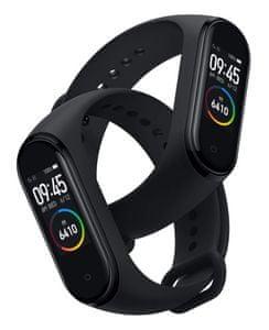 Fitness náramok Xiaomi Mi Band 4, nájdi telefón, odomykanie telefónu, prehrávanie hudby, multišport
