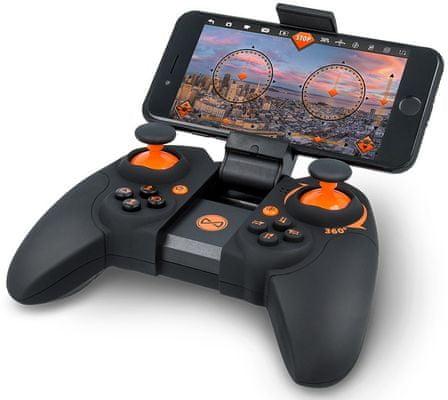 Drón Forever Flex, automatické vzlietnutie i pristátie, 3 režimy, LED diódy