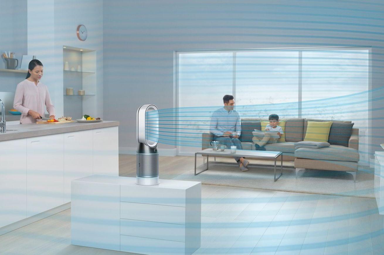 Dyson Pure Hot + Cool (HP04) technológia Air Multiplier