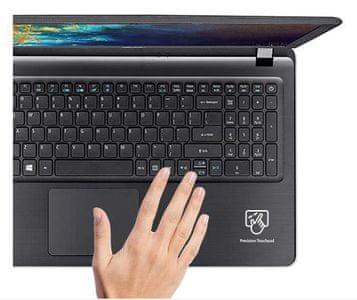 pohodlné použitie klávesnice