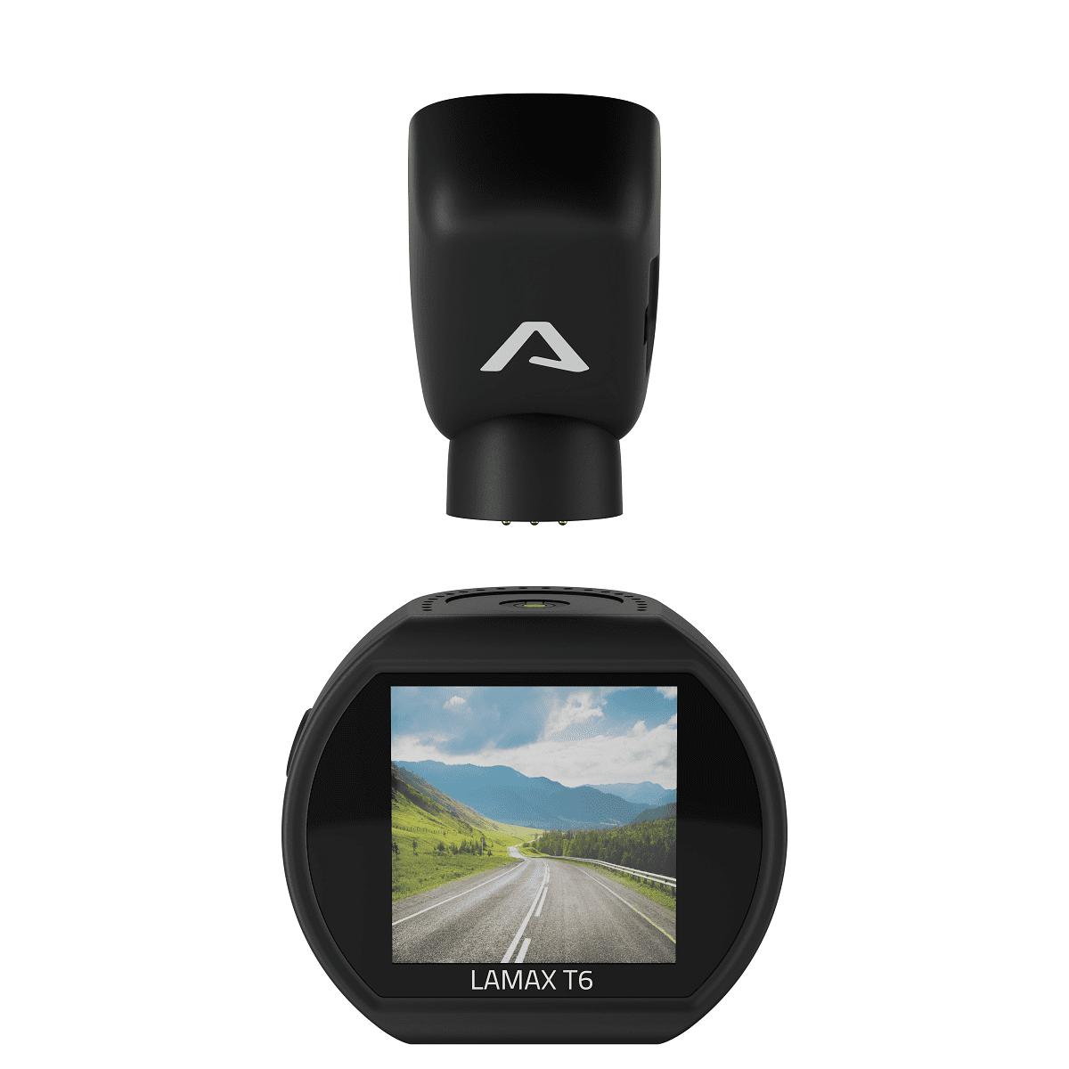 kamera do auta LAmax T6 full hd denný a nočný režim uhol 140 stupňov 1920 × 1080