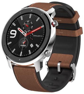 Inteligentné hodinky Xiaomi Amazfit GTR, farebný AMOLED displej, dlhá výdrž, multisport, GPS, Glonass, tepová frekvencia, srdcové zóny