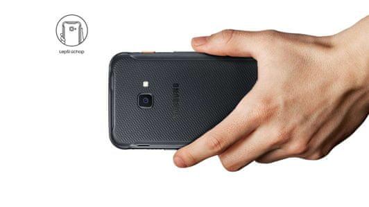 Samsung Galaxy Xcover 4s, odolný telefón, vojenská odolnosť, pogumovaný, protišmykový
