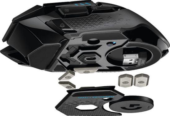 Herná myš Logitech G502 Lightspeed senzor HERO 16K