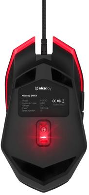 Herná myš Niceboy ORYX M200 drôtová 6 400 DPI programovateľné tlačidlá laserový snímač