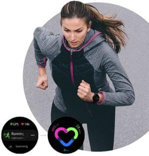 Samsung Galaxy Watch Active2, bežecký tréner, multi šport, automatické rozpoznanie športu