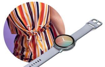 Samsung Galaxy Watch Active2, nastaviteľný personalizovaný ciferník zladený s oblečením