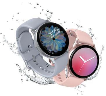 Samsung Galaxy Watch Active2, odolné, IP68, vodotesné, 5 ATM, vojenský štandard