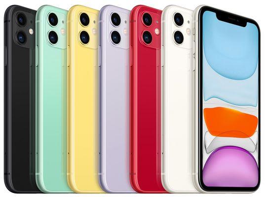 Apple iPhone 11, supervýkonný procesor, strojové učení, A13 Bionic, velký displej, duální ultraširokoúhlý fotoaparát, IP68, voděodolný, Face ID, čtečka obličeje, Dolby Atmos
