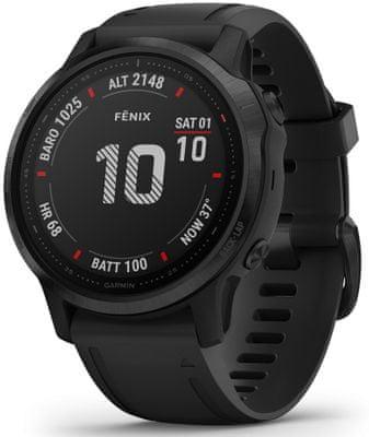 Inteligentné hodinky Garmin fénix 6S PRO, smart watch, pokročilé, outdoorové, športové, odolné, dlhá výdrž batérie, hudobný prehrávač