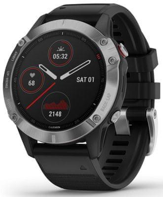 Chytré hodinky Garmin fénix 6, smart watch, pokročilé, outdoorové, športové, odolné, dlhá výdrž batérie