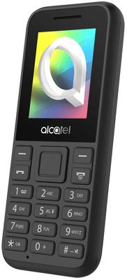 Alcatel 1066G, tlačidlový telefón, lacný, dostupný mobil, FM rádio, farebný displej, kompaktný, malé rozmery, dlhá výdrž na batériu