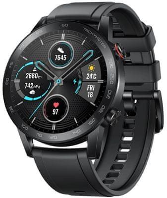 Inteligentné hodinky Honor MagicWatch 2, AMOED displej, personalizácia ciferníku, dlhá výdrž na jedno nabitie, multisport, 15 rôznych športov, prehrávanie hudby, telefonovanie, GPS, plávanie, sledovanie spánku, dychové cvičenia