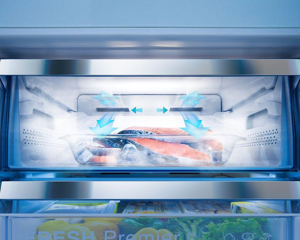 Americká chladnička Hisense RS560N4AD1 FastFreeze