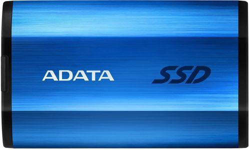 Externý disk ADATA SE800 1TB, modrá (ASE800-1TU32G2-CBL) armádne ochrana prenosové rýchlosti AES snímača nárazov