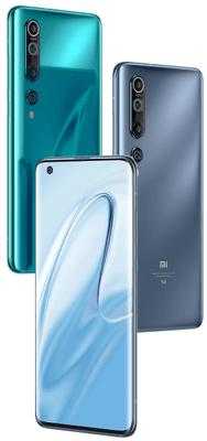 Xiaomi Mi 10, výkonný telefón, vlajková loď, zaoblený AMOLED displej, 8K videá, štvornásobný fotoaparát ultraširokouhlý, vysoké rozlíšenie, 90 Hz AMOLED FHD+ displej