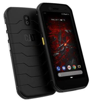 CAT S42, odolný telefón, vodeodolný, prachuvzdorný, odolný proti nárazu a pádu, NFC, veľký displej, elegantný, štíhly dizajn