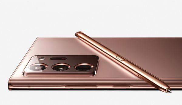 Samsung Galaxy Note20 Ultra 5 G, výkonný telefón, super AMOLED Infinity-O QHD + 120 Hz displej, trojitý ultraširokouhlý fotoaparát, teleobjektív, veľká výdrž, rýchle nabíjanie, bezdrôtové nabíjanie, reverzné dobíjanie, vysoký výkon, Exynos 990, stylus, S Pen