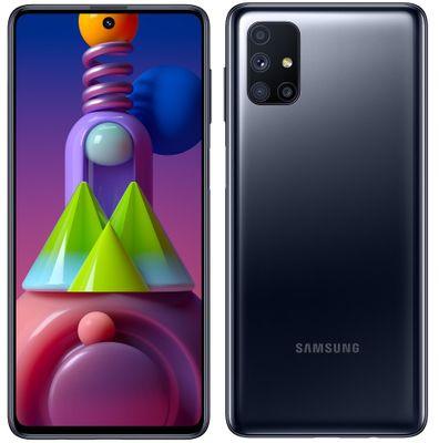 Samsung Galaxy M51, veľký displej, štvornásobný ultraširokouhlý fotoaparát, NFC, čítačka odtlačkov prstov, extrémna batéria, veľkokapacitná, dlhá výdrž, 8-jadrový procesor Snapdragon 730