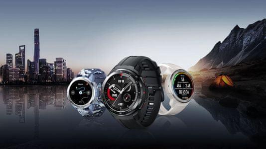 Inteligentné hodinky Watch GS Pro KANON-B19S monitorovanie tepu srdcovej činnosti hudobný prehrávač volanie odolná konštrukcia vo všetkých teplotách