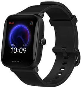 moderné inteligentné hodinky v štýlovom prevedení xiaomi amazfit bip u Bluetooth s ble 60 športových režimov vodoodolné meranie tepu okysličenia krvi gps funkcie pai systém výdrž 9 dní na nabitie
