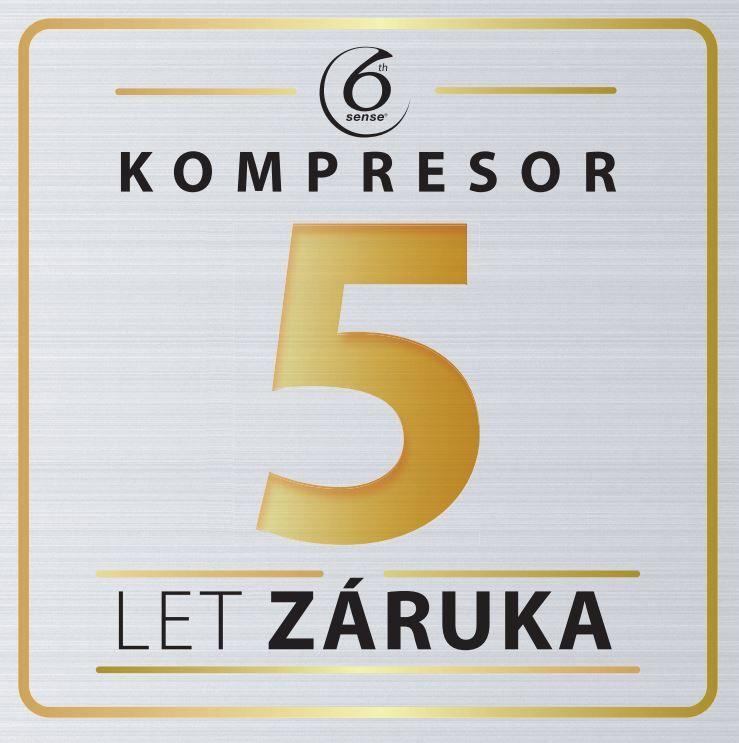 5letá záruka na kompresor